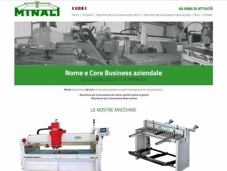 Read news | New Minali Macchine website